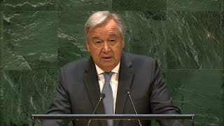 Tribute to Kofi Annan - UN Secretary-General at 73rd Session of General Assembly