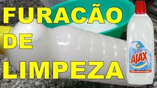 Ajax Caseiro Para Limpeza Pesada Só com 2 Ingredientes – Muito Econômico e Barato