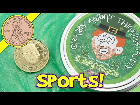 St Paddy's Surprise Holiday Special Edition Crazy Aaron's Thinking Putty