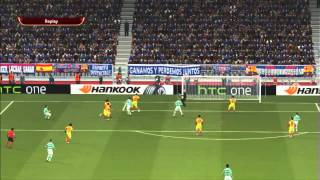 PES 2014:Europa League Ep.2 |Gameplay PC 720p HD
