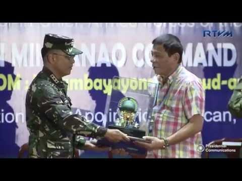 10th Eastern Mindanao Command (EASTMINCOM) Anniversary 8/26/2016