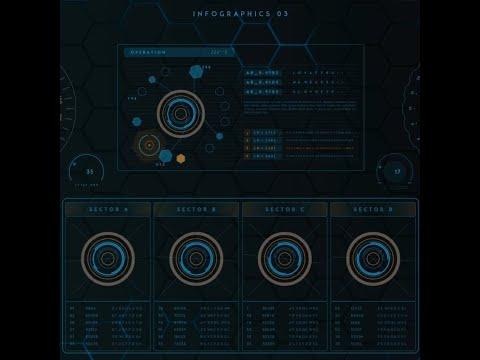 ⭐ SCI-FI | Живые обои Cyber HUD Ⅲ 1080p 60fps | Скачать бесплатно | На рабочий стол ⭐