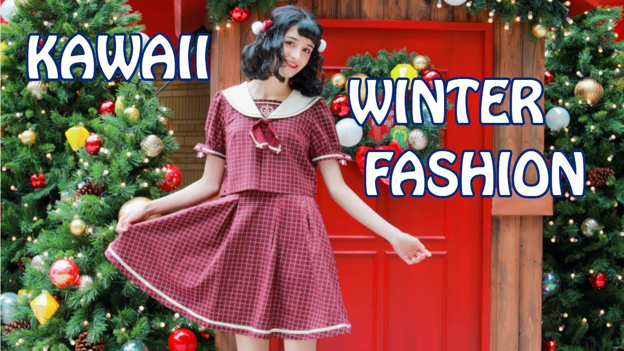 KAWAII WINTER LOOKBOOK || What I Wear in Japan in Winter