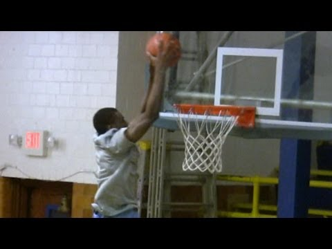 Huntington Prep Blue Yellow Scrimmage Highlights - Andrew Wiggins, Xavier Rathan Mayes