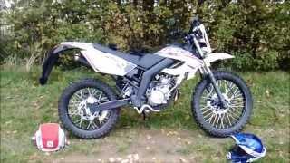 Presentation de la moto massai 50cc Dirty Rider