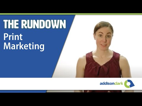 The Rundown: Print Marketing