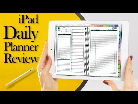 Franklin Planner Software For iPad Daily Digital Planning with Goodnotes Notability notes apps pro