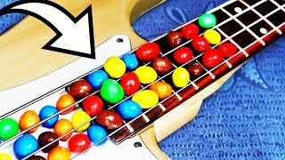 Eminem played with M&M