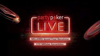 Millions Grand Final Barcelona Partypoker 2018 - 100k SHR Reta final e FT (mesa final)!
