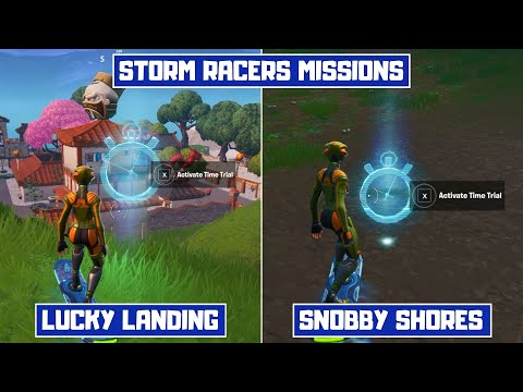 Complete Time Trial North of Lucky Landing or East of Snobby Shores! - Storm Racers Season X