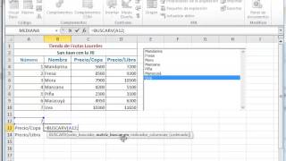 Controles_Formulario: Cuadro de lista