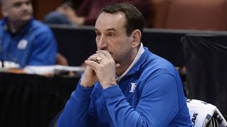 Mike Krzyzewski Gets Emotional When Talking About Brother | CampusInsiders