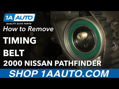 How to Replace Timing Belt 96-00 Nissan Pathfinder