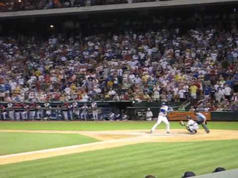 Texas Ranger's Marlon Byrd's Walk Off GRAND SLAM against the Yankees