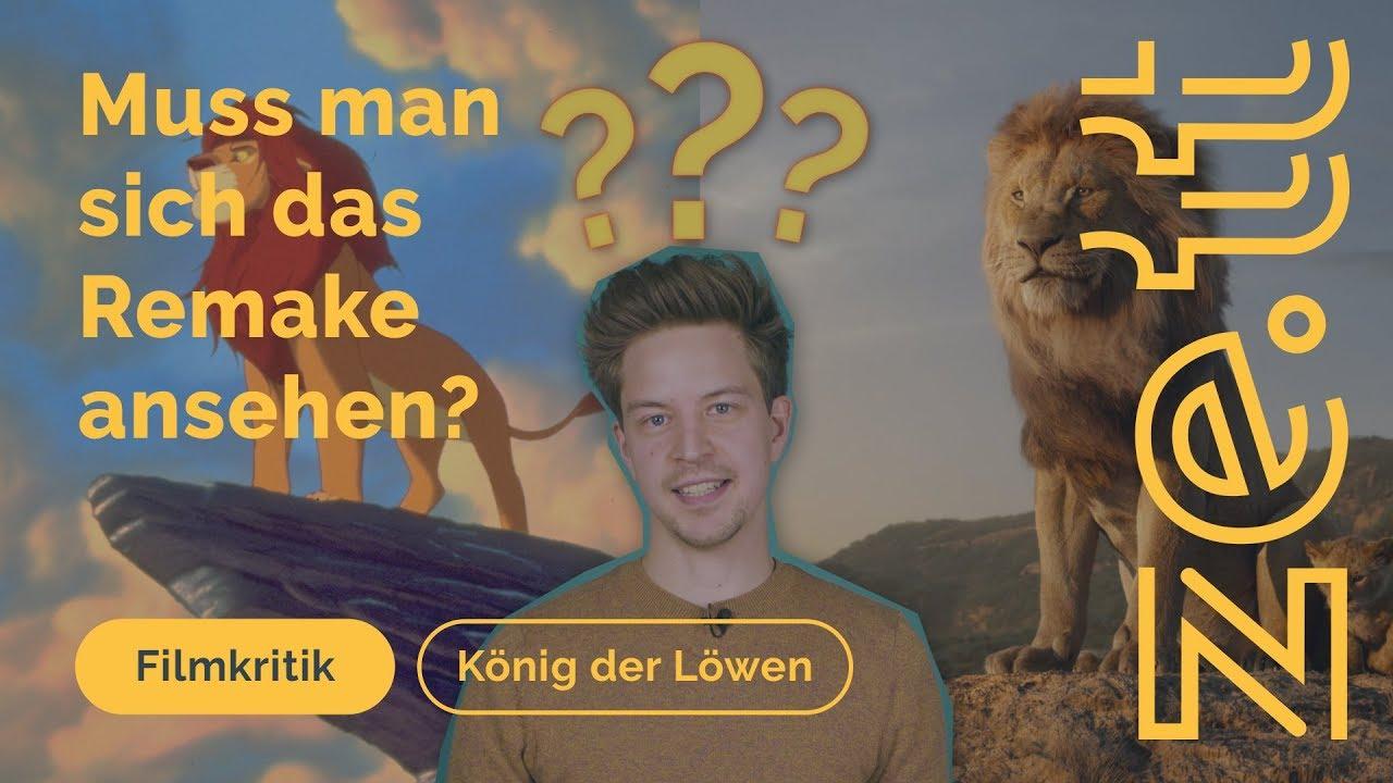 Kritik Muss Man Sich Das König Der Löwen Remake Im Kino