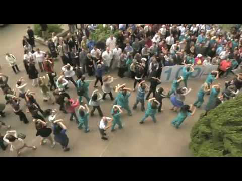 Abba Flash Mob