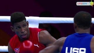 Finals (64kg) CRUZ GÓMEZ Andy (CUB) vs DAVIS Keyshawn (USA) PanAmerican Games Lima 2019