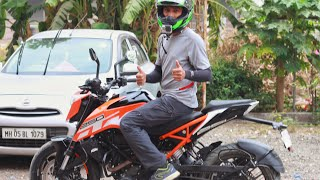 Good and Bad Duke 250 | It Handles better than 390 or any KTM sold in the country