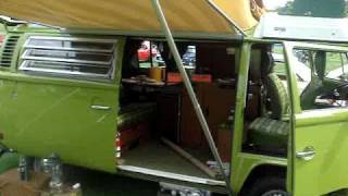 1976 VOLKSWAGEN CAMPER - ROUGHING IT?