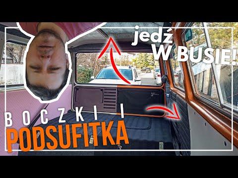 jedź W BUSIE!: Jak zrobiliśmy boczki i podsufitkę w Volkswagenie T3