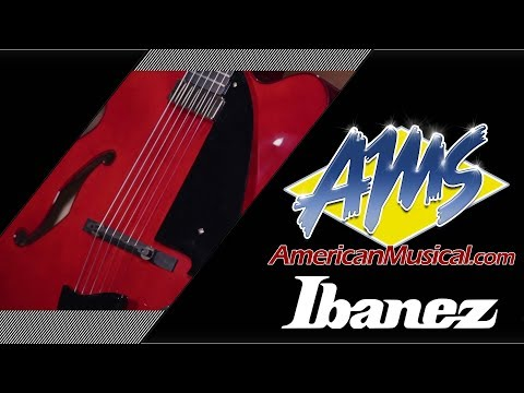 Ibanez AFC151 Hollowbody Overview - American Musical Supply