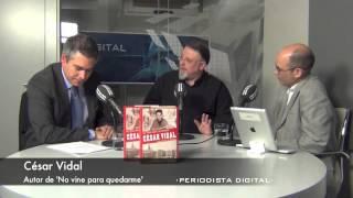 César Vidal, autor de 'No vine para quedarme'. 2-12-2013