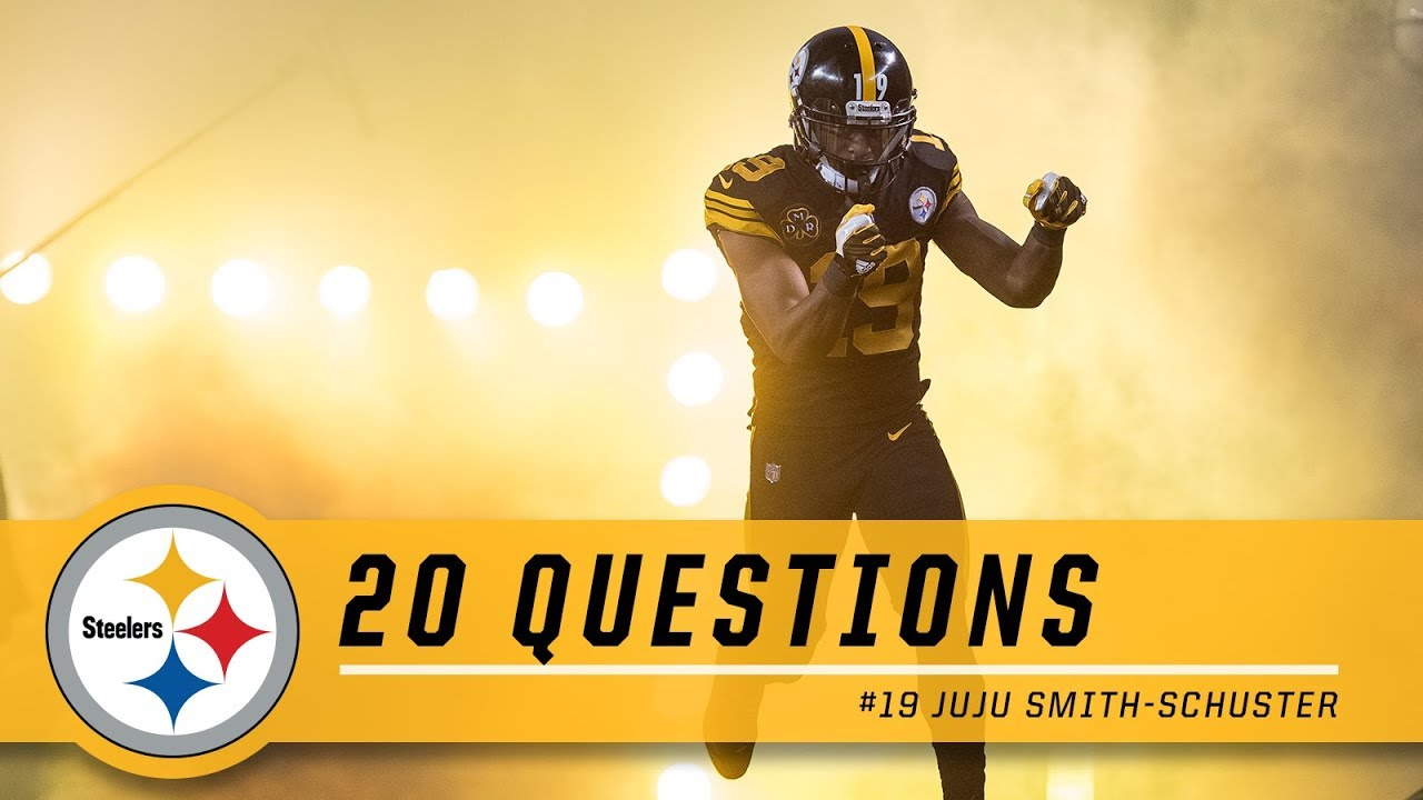 4a0435cef 20 Questions with JuJu Smith-Schuster