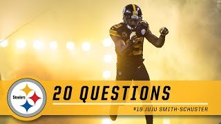 20 Questions with JuJu Smith-Schuster | Pittsburgh Steelers