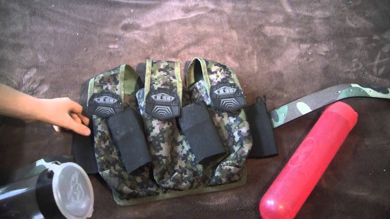 Epic Battle Tested pod holder paintball review - YouTube