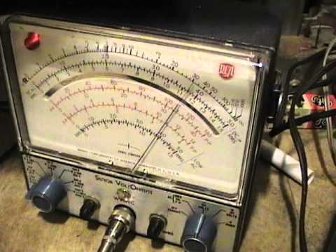 AM Radio VTVM Alignment