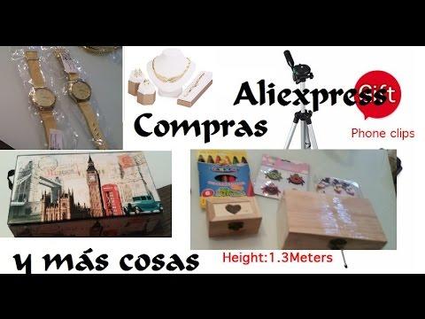 compras-aliexpress-vlog-#6-regalos-día-de-la-madre-+-trÍpode-nuevo-+-compras-manualidades-bebÉ