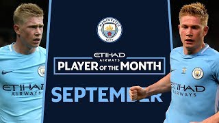 A HUNDRED HORSE SIZED DUCKS! | Kevin De Bruyne | ETIHAD Player of The Month | SEPTEMBER