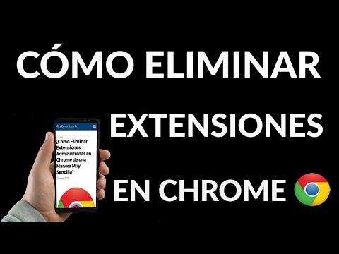 Cómo Eliminar Extensiones en Chrome