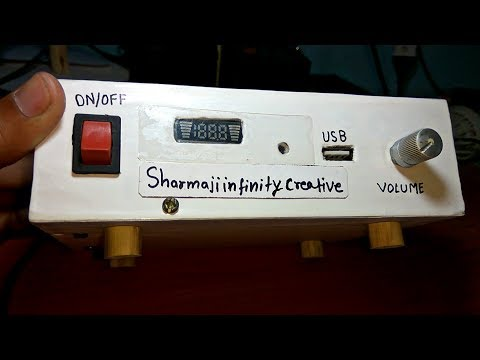 Make USB MP3 player, FM Radio and Aux at home