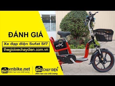 Đánh giá xe đạp điện Sufat SF7