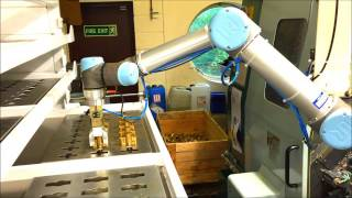 Rousant Sherwood (Manufacturing) Ltd - Robot unload/load of CNC Machining Centre