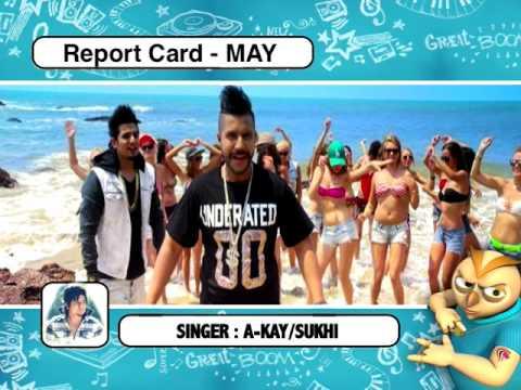 9X Tashan Report Card | May 2015 | Performance of Punjabi Songs