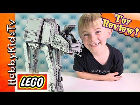 Lego Star Wars AT-AT Walker 75054 Build and Play