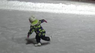 Учимся кататься красиво. Дуга. Тройка. Перекидной #Элементы фигурного катания #Figure skating