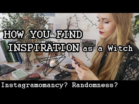 Finding Inspiration - SOLITARY WITCH Edition | Witchcraft Ideas & Messages from the Universe [CC]