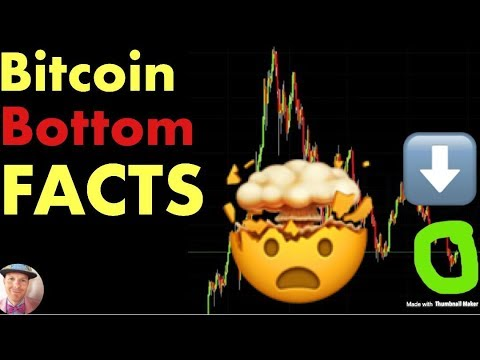 Bitcoin Bottom – COLD HARD FACTS (btc crypto market crash price news today 2019)