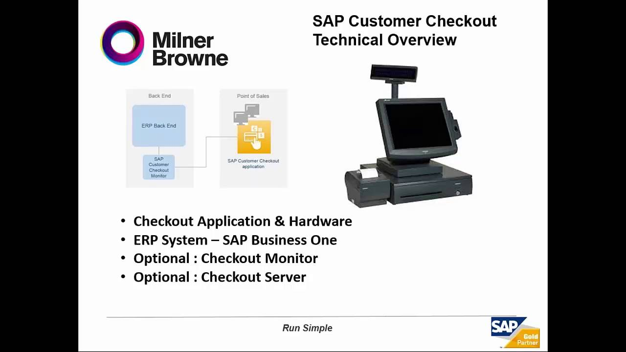 What Is The Sap Customer Checkout For Sap Business One