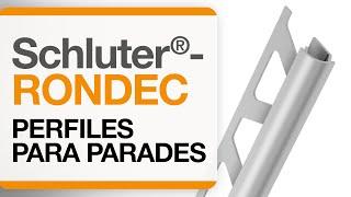 Cómo instalar un remate  para cantos de cerámica sobre paredes: Schluter®-RONDEC.