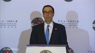 Mnuchin Wants More Balanced China Economic Relations