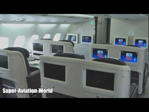 Malaysia Airlines A380 Interior and Exterior Tour