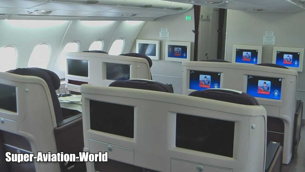 Malaysia Airlines A380 Interior And Exterior Tour YouTube