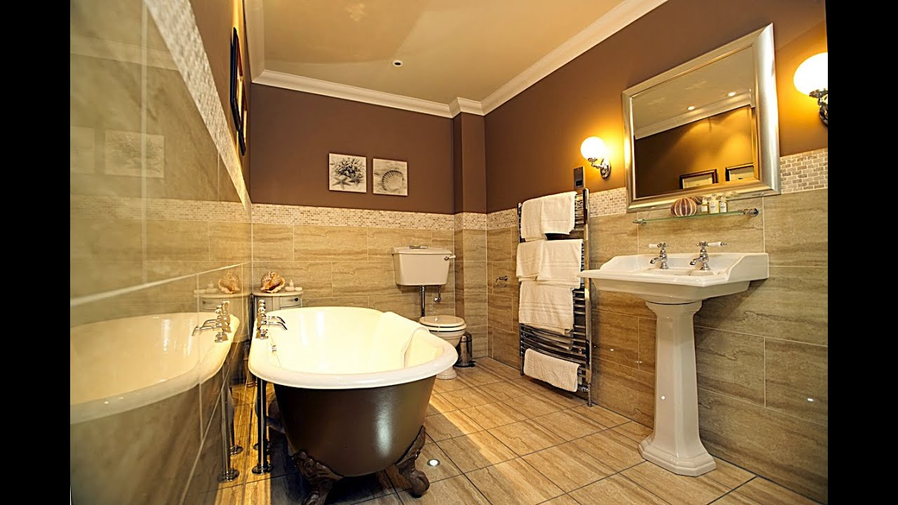 Small Modern Shower Bathroom Bath Tub Interior Design