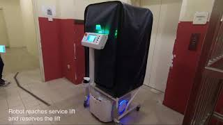 Techi Robocart for Hotel Housekeeping