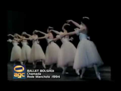Ballet Bolshoi - 1994 REDE MANCHETE
