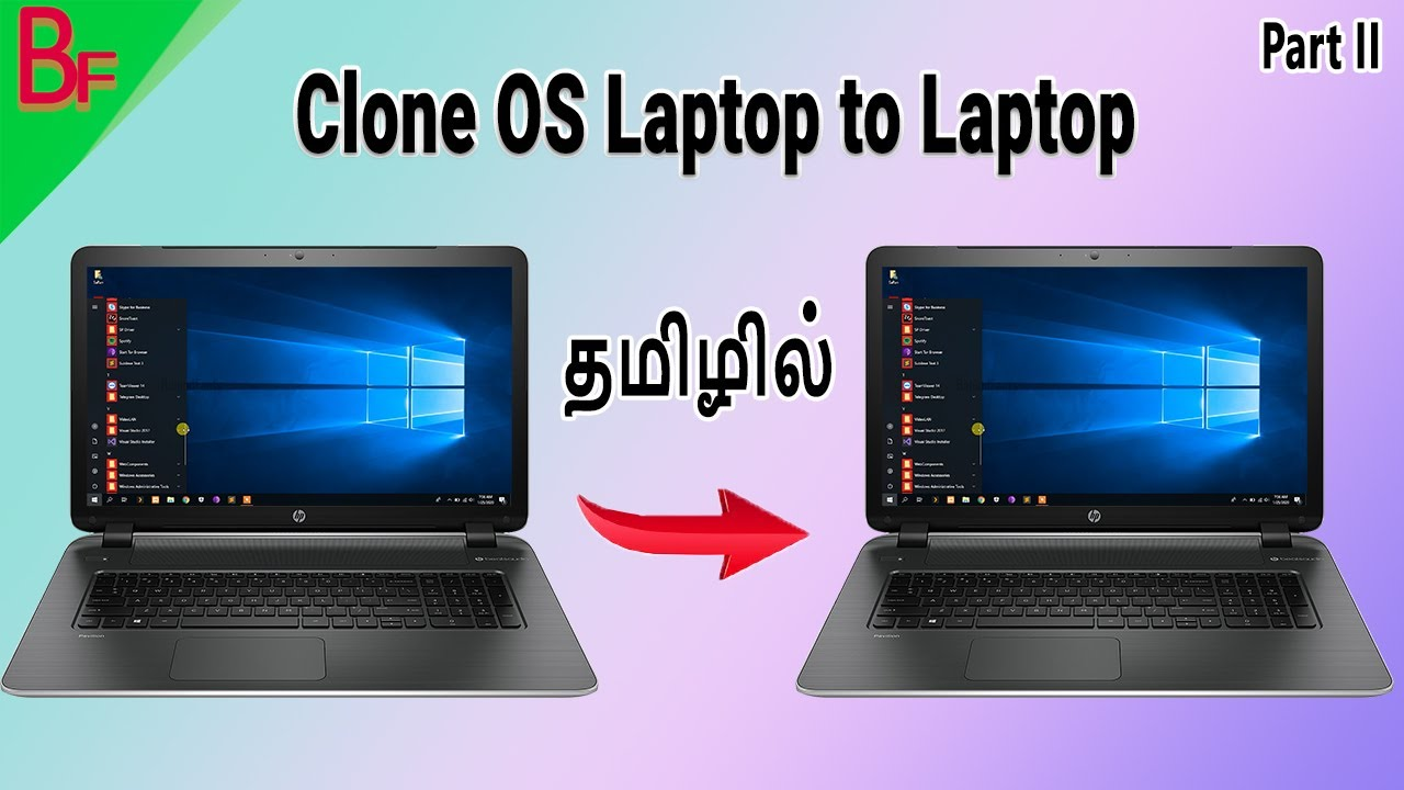 Clone OS laptop to laptop in tamil Part-II - தமிழில்